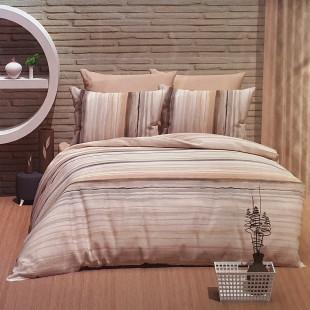 Lenjerie de pat pentru 2 persoane, 4 piese, Bahar Class, din bumbac 100% - Clara