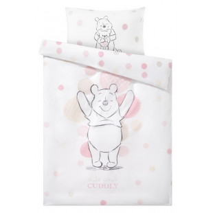 Lenjerie de pat pentru copii, din bumbac 100% Ranforce, Winnie the Pooh - Marina
