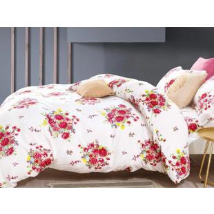 Lenjerie de pat pufoasa cocolino pentru 2 persoane, cu 4 piese Casa New Concept - Alis