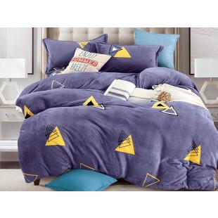 Lenjerie de pat pufoasa cocolino pentru 2 persoane, cu 4 piese Casa New Concept - Elle