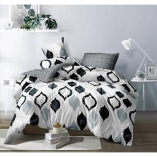 Lenjerie de pat rabat/finet, pentru 2 persoane, Ralex Pucioasa - Seraia