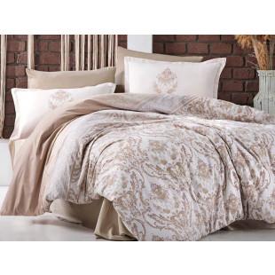 Lenjerie de pat Ranforce, pentru 2 persoane, Clasy, din bumbac 100% - Olivia