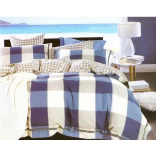 Lenjerie de pat Super Elegant Pucioasa, pentru pat dublu, 2 persoane, din bumbac finet, cu 4 piese - Karin