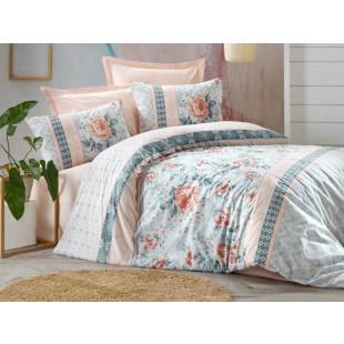 Lenjerie de pat pentru 2 persoane, 4 piese - Cotton box, din bumbac 100% - Lilly
