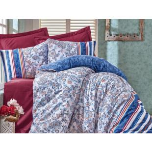 Lenjerie de pat pentru 2 persoane, 4 piese - Cotton box, din bumbac 100% - Livia