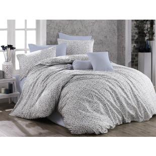 Lenjerie de pat pentru 1 persoana, 3 piese, Bahar Majoli, din bumbac 100% Ranforce - Louise