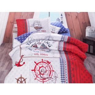Lenjerie de pat pentru copii - Clasy, din bumbac 100% - Marc
