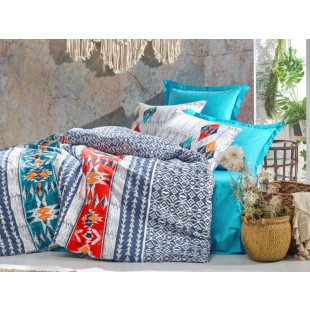 Lenjerie de pat pentru 2 persoane, 4 piese - Cotton box, din bumbac 100% - Marinka
