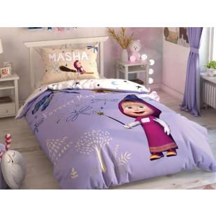 Lenjerie de pat pentru 1 persoana, 3 piese, TAC, din bumbac 100% - Masha