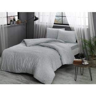 Lenjerie de pat pentru 1 persoana, 3 piese, TAC, din bumbac 100% Ranforce - Mina
