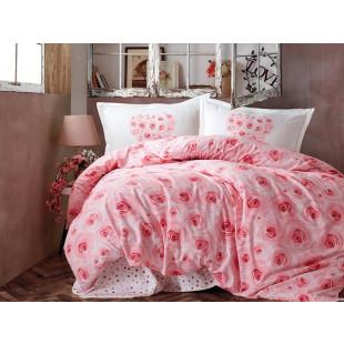 Lenjerie de pat pentru 2 persoane - Clasy, din bumbac 100% - Sonia