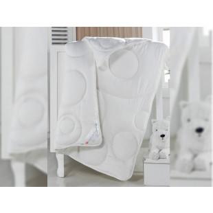 Pilota din bumbac pentru pat bebelusi, Cottonbox 95x145 cm