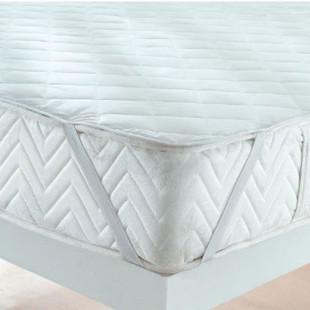 Protectie impermeabila saltea, matlasata 90x200 cm, cu elastic, Ralex Pucioasa