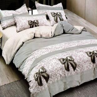 Lenjerie de pat din bumbac, ELVO, pentru 2 persoane, 4 piese, Ralex Pucioasa - Raisa