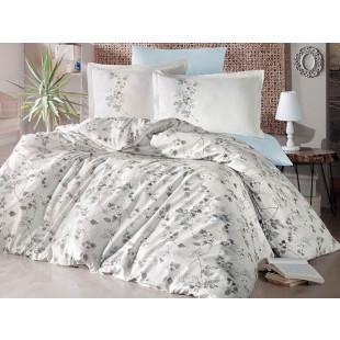 Lenjerie de pat pentru 2 persoane - Clasy, din bumbac 100% - Romina