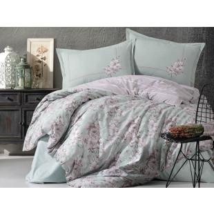 Lenjerie de pat pentru 2 persoane - Clasy, din bumbac 100% - Ruana