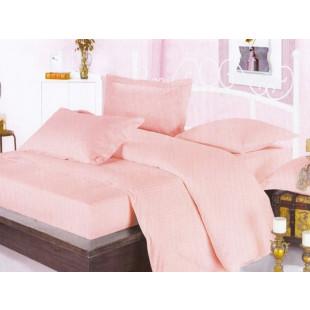 Lenjerie de pat Pucioasa, din bumbac 100% Damasc, 2 persoane, 4 piese, Dormy Pucioasa - Selena