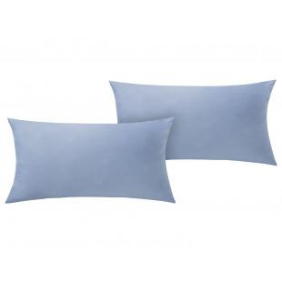 Set 2 fete de perna bumbac ranforce 40x60 cm albastru Meradiso