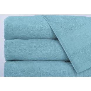 Set 5 prosoape de baie, Greek border albastru pal, din bumbac 100% Ralex Pucioasa 50x90 cm