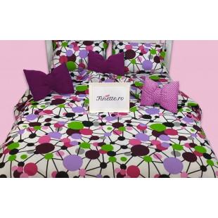 Finette.ro va ofera o bogata oferta de lenjerii de pat Armonia Textil, din bumbac neted, produse de cei mai mari producatori de lenjerii de pat. Va oferim lenjerii din bumbac neted la super preturi si de cea mai buna calitate.