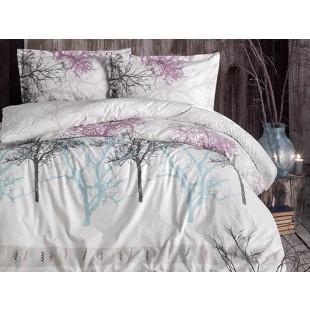 Lenjerie de pat pentru 2 persoane - Clasy, din bumbac 100% - Simina