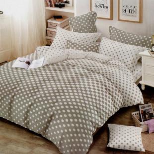 Lenjerie de pat din bumbac, ELVO, pentru 2 persoane, 4 piese, Ralex Pucioasa - Simina