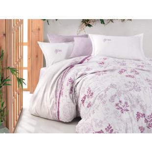 Lenjerie de pat pentru 2 persoane - Clasy, din bumbac 100% - Sarah