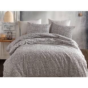 Lenjerie de pat pentru 2 persoane, 4 piese, Bahar Majoli, din bumbac 100% Ranforce - Trisha