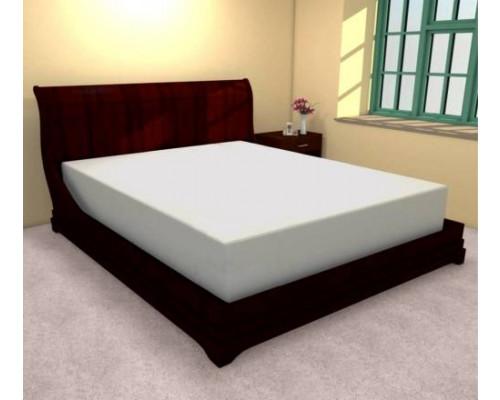 Cearceaf de pat cu elastic din bumbac, 180x210 cm, Ralex Pucioasa