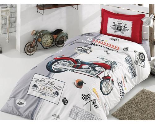 Lenjerie de pat pentru copii - Clasy, din bumbac 100% - Fineas