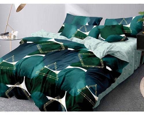 Lenjerie de pat bumbac finet, cu 6 piese, pentru 2 persoane, L'atelier Creatif Pucioasa - Ligia