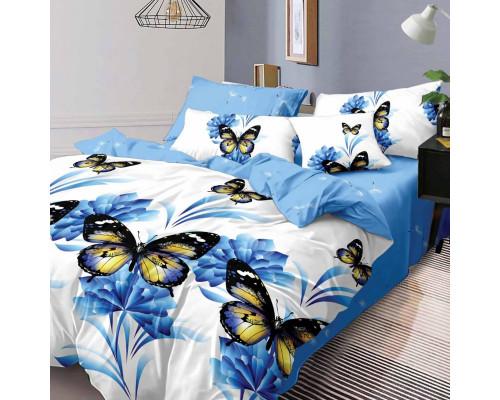 Lenjerie de pat din bumbac, ELVO, pentru 2 persoane, 4 piese, Ralex Pucioasa - Mia