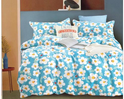 Lenjerie de pat din bumbac satinat pentru 1 persoana, cu 3 piese - Bella