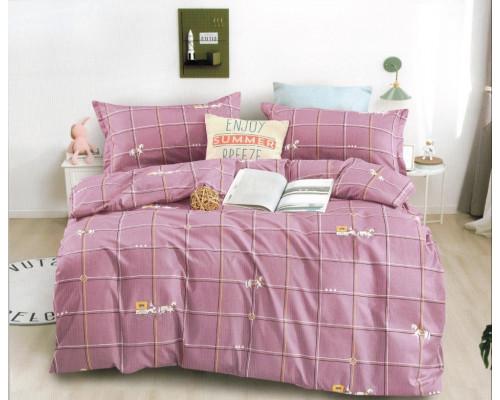 Lenjerie de pat din bumbac satinat pentru 1 persoana, cu 3 piese - Tania