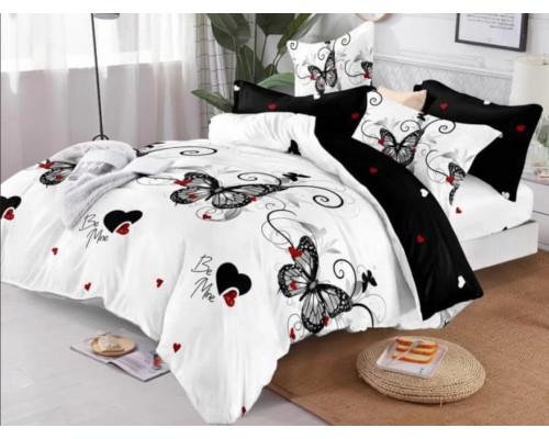 Lenjerie de pat pufoasa cocolino, pentru 2 persoane, 4 piese, Ralex Pucioasa - Simina