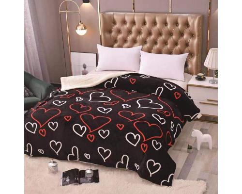 Patura cocolino pufoasa cu blanita pentru pat dublu, 2 persoane 200x230 cm - Anna