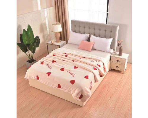 Patura cocolino pufoasa cu blanita pentru pat dublu, 2 persoane 200x230 cm - Celia