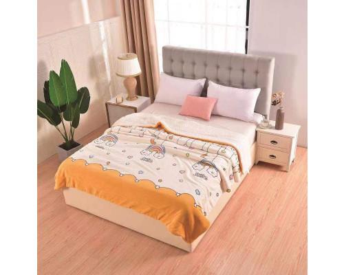 Patura pufoasa cu blanita pentru pat dublu, 2 persoane 200x230 cm - Lisa