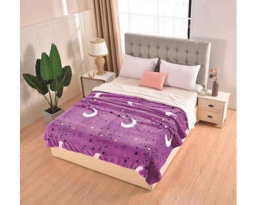 Patura pufoasa cu blanita pentru pat dublu, 2 persoane 200x230 cm - Paula