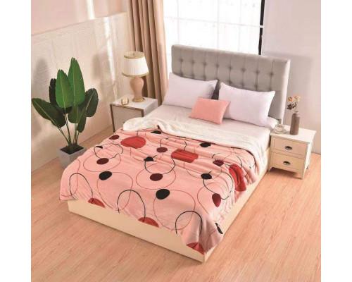 Patura cocolino pufoasa cu blanita pentru pat dublu, 2 persoane 200x230 cm - Sofia
